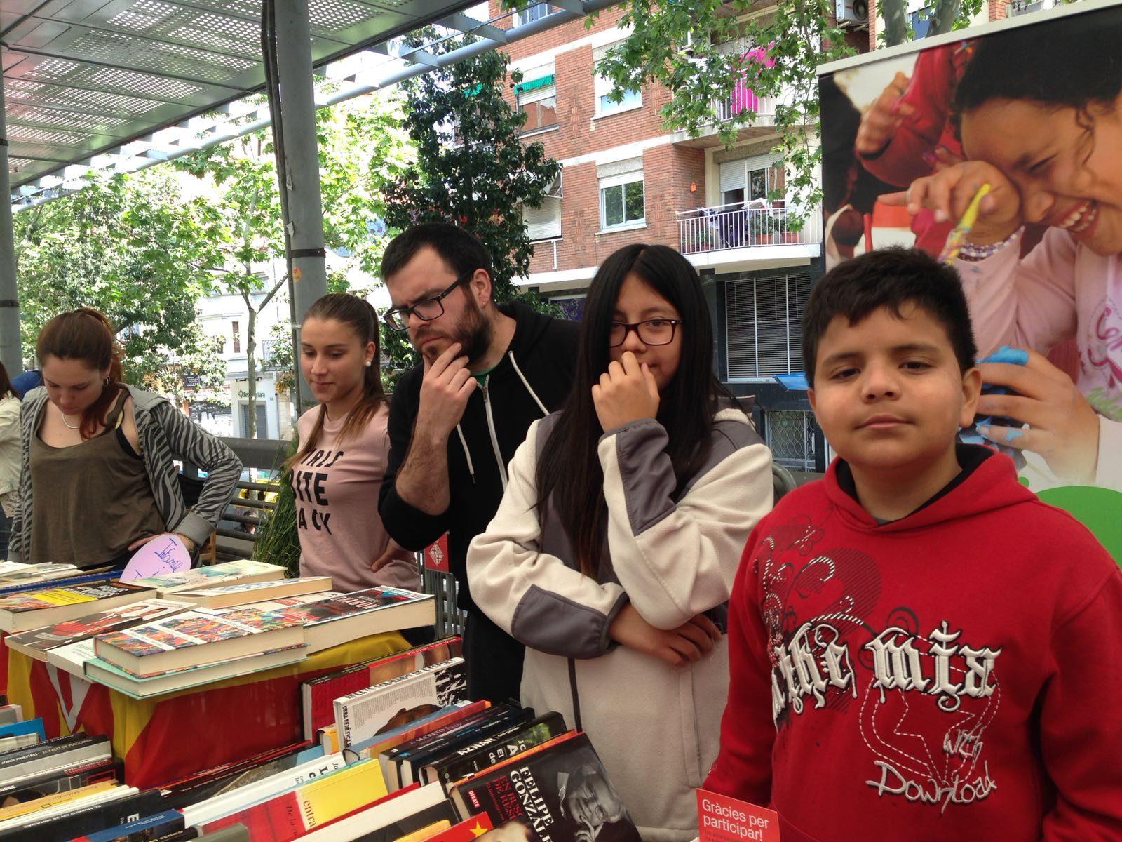 Sant Jordi i els joves de la Fundació