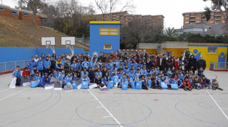 Visita del Reial Club Deportivo Espanyol al Babar